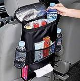 car storage - Autoark Standard Car Seat Back Organizer,Multi-Pocket Travel Storage Bag(Heat-Preservation),AK-002