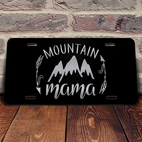 Mountain Mama Vanity Front License Plate Tag KCE398