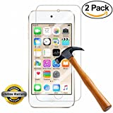 iPod Touch 6 Screen Protector, SOOYO(TM) Premium Tempered Glass Screen Protector (2.5D Round Edge/99% Clarity/Shatter-Proof/Bubble Free) for iPod Touch 6 & iPod touch 5 [Lifetime Warranty]-[2Pack]
