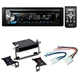 Pioneer Aftermarket Car Radio Stereo CD Player Dash Install Mounting Kit + Stereo Wire Harness for Nissan Sentra 2000-2006