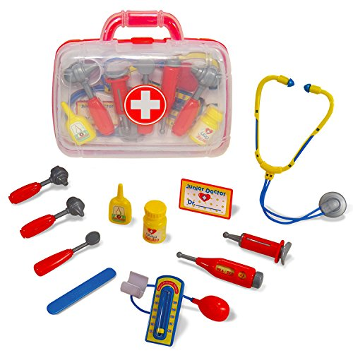 Little Pretender Medical Doctor Kit for Kids - Pretend & Play Doctor Set - Packed in a Sturdy