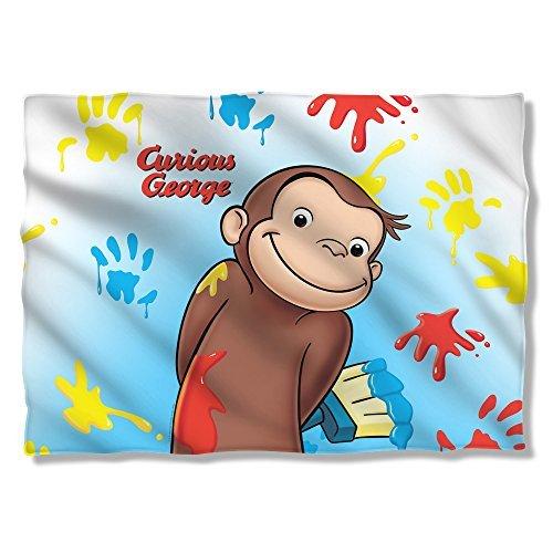 Universal Studios Paint - Curious George - Pillow Case