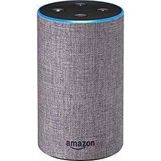 Echo (2nd Generation) - Smart speaker with Alexa and Dolby processing - Heather Gray Fabric (B0749WVS7J)   Amazon Products