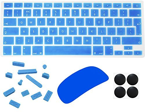 Silicone Keyboard Protector with Keys for Apple Macbook Air 13.3