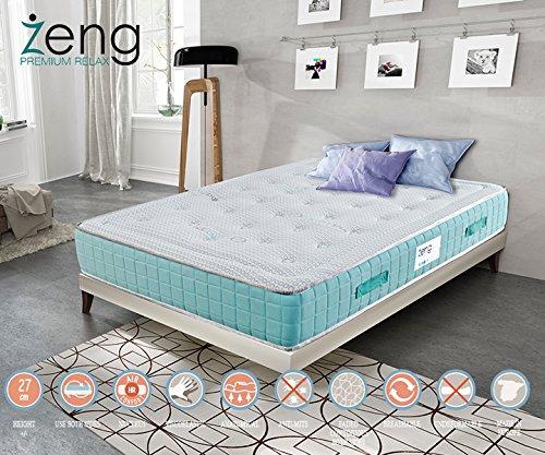 Zeng - Memory Foam 10'' Pharmapur Mattress, QUEEN by ZENG