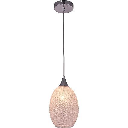 Amazon.com: Elegant Lighting LDPD2034 Glacia - Lámpara de ...