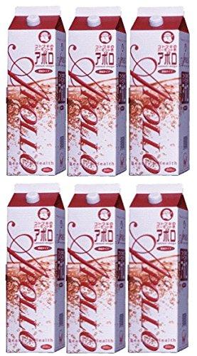 バーモント酢 アポロ1800ml 6本セット   B00VZSJSZO