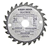 Black & Decker BDCMTTS Matrix Saw Replacement 3-3/8' 24t Carbide Blade # 90585148