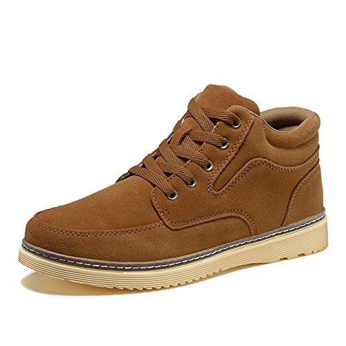 Men's Shoes Feifei Spring and Autumn Leisure Tide Shoes 5 Colors (Color : 01, Size : EU43/UK9.5/CN45)