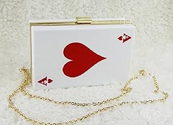 YX Duro bolsa de embrague noche bolsa labios boda Joker caja , 3#: Amazon.es: Deportes y aire libre