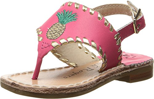 jack-rogers-girls-little-miss-pineapple-sandal-bright-pink-gold-8-m-us-toddler