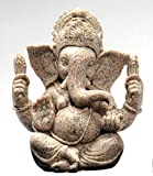 celebrationgift Home Soul Sandstone Ganesh Statue For Car Dash Board & Home Decoration No.413
