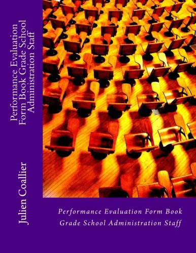 Performance Evaluation Form Book Grade School Administration Staff