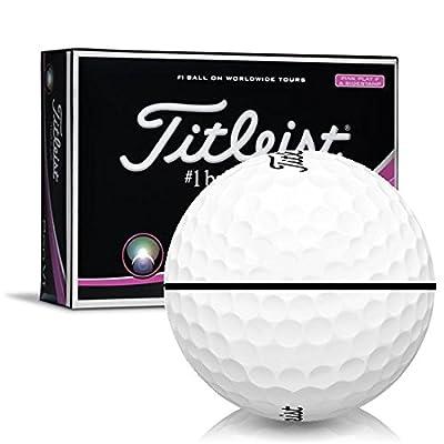 Titleist Pro V1 Pink AlignXL Personalized Golf Balls