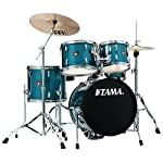 Tama Imperialstar 5-Piece Complete Drum Set with Meinl HCS Cymbals - FREE PROMO CYMBAL PACK - Midnight Blue 1