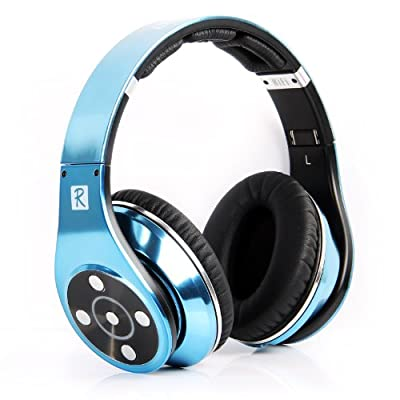 Bluedio R+ Legend Verson Bluetooth Headphones Supports NFC Bluetooth4.0 Revolutionary 8 Tracks 8 Driver Units Deep bass effect wireless Headphones on-Ear Headphones Retail-Gift Packaging Newly Release US