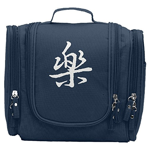 [Claudia Makeup Holder Chinese Characters Happy Cosmetic Bag] (Black Widow Marvel Makeup)