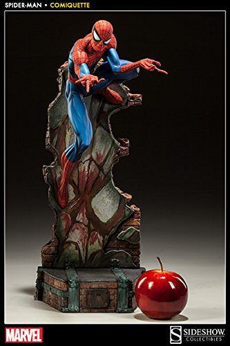 Spider-Man Collection Comiquette Polystone Sideshow Collectibles Statue