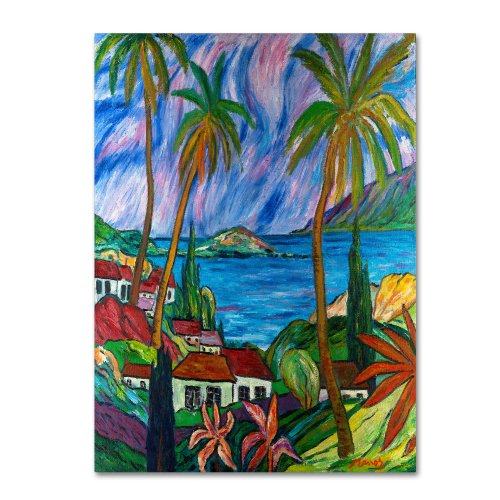 Tropical Paradise by Manor Shadian, 35 by 47-Inch Canvas Wall Art