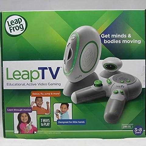 NEW! LeapFrog LeapTV Educational Active Video Gaming System Multiplayer Mega Pak - Leapfrog Car Adapter