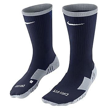 Nike Team MatchFit Core Crew Sock - Calcetines de fútbol unisex, negro / azul / blanco, 46-50: Amazon.es: Zapatos y complementos