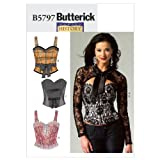 Butterick Patterns B5797E50 Misses' Corset, Sash and Shrug Sewing Pattern, Size E5 (14-16-18-20-22)