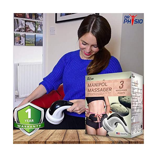 51VEI3jWOoL Dr Physio Electric Full Body Massager For Pain Relief of Back, Leg & Foot