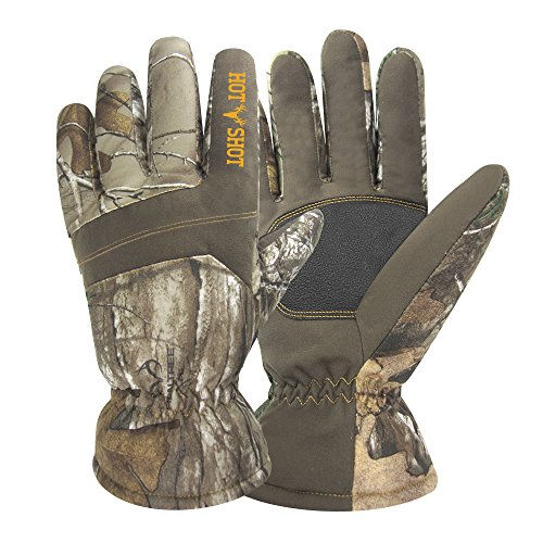 "Hot Shot 0x-206C-xx-AZ Men's""Defender"" Glove, Realtree Xtra, Large"