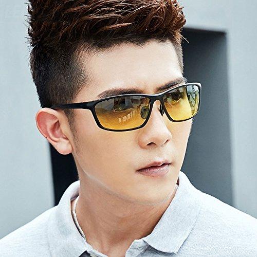 de De sol Gafas Gafa Deporte YQQ Gafas Hombre 4 HD UV Color Gafas Conducción Gafas Sol Polarizados 3 De Cuadradas De Vidrios Anti 5F4axag
