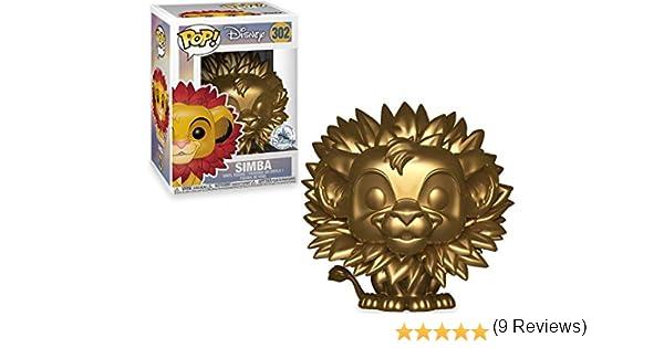 Figura de vinilo exclusiva #302 de The Lion King Pop! Disney Simba: Amazon.es: Juguetes y juegos
