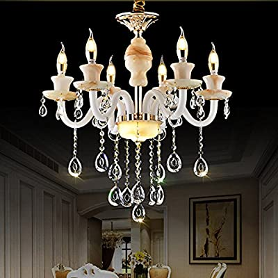 CHXDD Simple and modern restaurant led chandelier lamps fashion pendant with adjustable height #13I