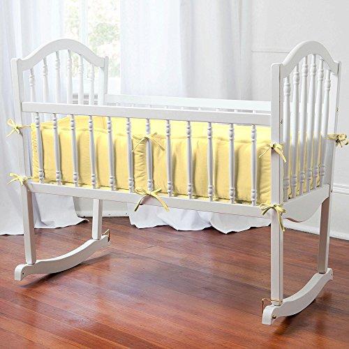 Carousel Designs Solid Banana Cradle Bumper