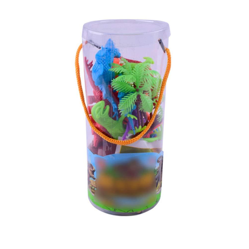 TrifyCore Juguete Dinosaurio Educativo, Simulación Plástica de Juguete de Dinosaurio Animal Regalo de Modelo 3-6 Años de Edad 19PCS: Amazon.es: Juguetes y ...