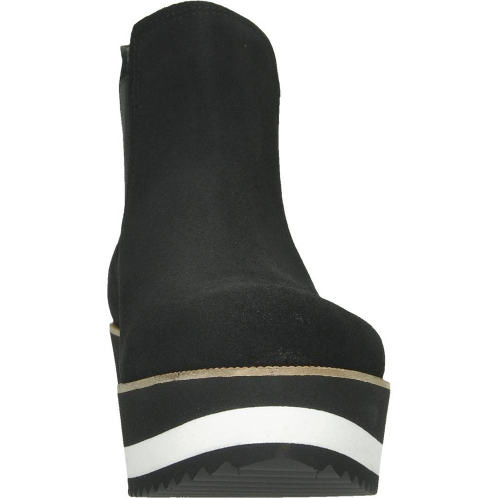 Unbekannt Stiefelleten Stiefel Damen, Farbe Schwarz, Marke Marke Marke Gelb, Modell Stiefelleten Stiefel Damen Gelb NÁPOLES Schwarz 88dcb3