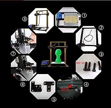 WUAZ Impresora 3D, Nivelación Automática De La Impresora 3D De ...