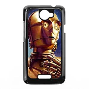 HTC One X Cell Phone Case Black Star Wars C3PO SJ9462941