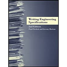 Writing Engineering Specifications