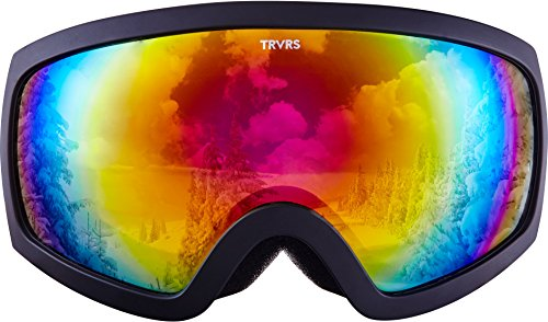 Traverse Varia Ski, Snowboard, and Snowmobile Goggles, Obsidian with Phoenix - Spy Phoenix Store