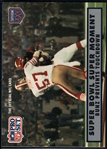 Football NFL 1990-91 Pro Set Super Bowl 160 #147 Dan Bunz NM-MT ()
