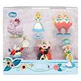 Alice in Wonderland Figure Play Set Disney Collection - 6 Piece Figurine Playset
