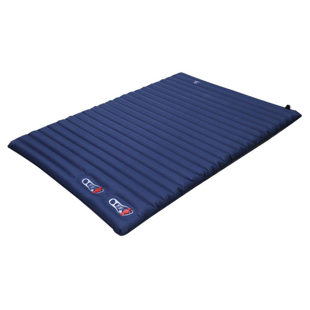 OUTDOT Automatische Aufblasbare Kissen, Outdoor-Zelt Isomatte, Matratze, Tragbare Gepolsterte Feuchtigkeitsmatte, Wilde Doppelte Bodenmatte Isomatte, 200  135  10Cm