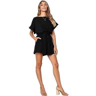 f3e6ebb858 MORETIME Femme La Mode Combinaison Nouveau Produit été 2019 Pas Cher  Combinaison Pantalon Femme été Combinaison