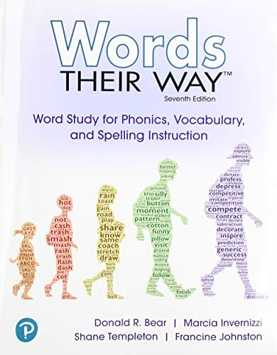 Words Their Way: Word Study for Phonics, Vocabulary and Spelling Instruction with Words Their Way Digital and Enhanced Pearson eText -- Access Card Package (7th Edition)