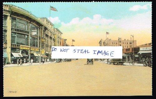 Southern Boulevard At East 163 Street Looking North Ca. 1931 Bronx New York Postcard - 1931 Postcard