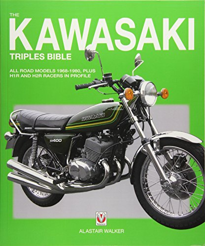 The Kawasaki Triples Bible: All road models 1968-1980, plus H1R and H2R racers in profile (Bible (Wiley)) ()