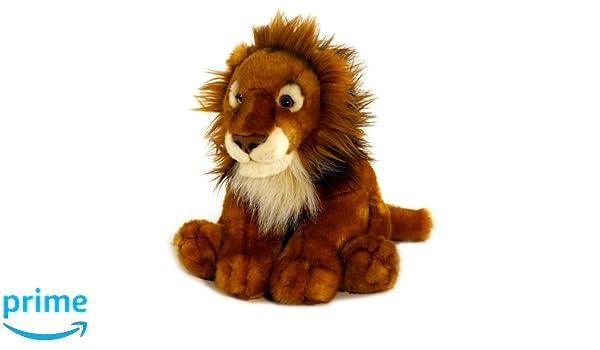 Keel Toys Peluche (64867): Keel Toys - 64867 - Peluche - Lion - Assis - 40 cm: Amazon.es: Juguetes y juegos
