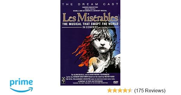 Amazon com: Les Miserables - The Dream Cast in Concert: Colm