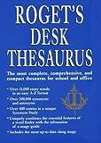 Roget's Desk Thesaurus, Webster Staff and RH Disney Staff, 0517180855