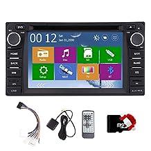 FM AM 3D GPS Navigation Car Stereo Video Car DVD Player for Toyota Corolla EX 2008-2013 VIOS RAV4 USB SD Bluetooth GAutoradio Radio Receiver Audio Monitor Headunit Touchscreen BT iPod