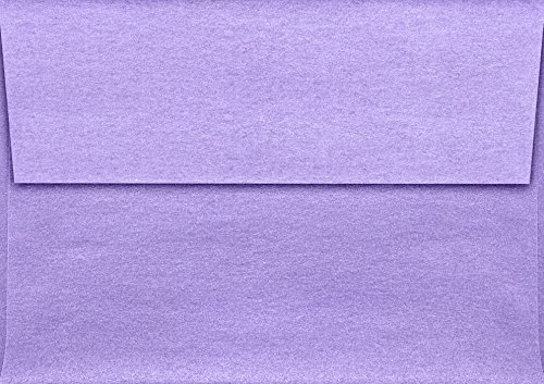 A1 Invitation Envelopes (3 5/8 x 5 1/8) - Amethyst Metallic (50 Qty) | Perfect for RSVP Cards, Invitations, Announcements and Notes | 5365-17-50